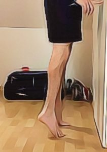 Clubfoot calf exercise