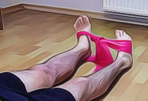 Club foot strengthening exercise